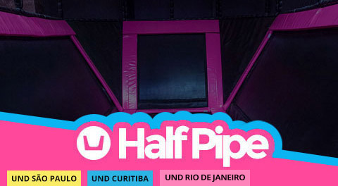 Impulso Park Half Pipe
